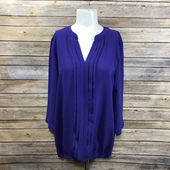 7a8a0b5a736 41 Hawthorn Juanis Vneck Blouse Purple. Stitch Fix